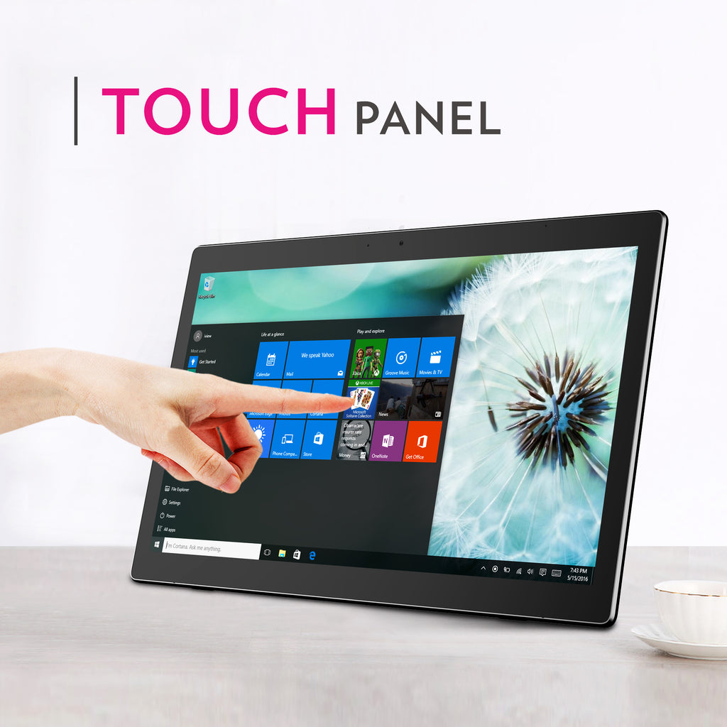 1760AIO All-in-One Windows Computer Touch Panel Touchscreen