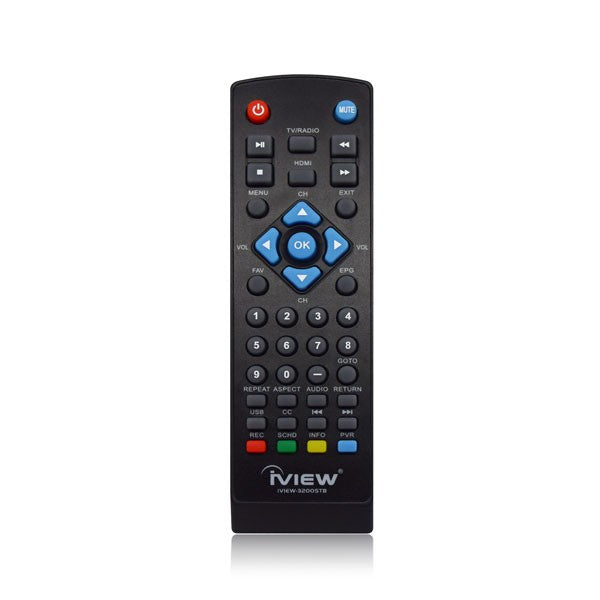 Iview 3200STB Digital Converter Box Remote