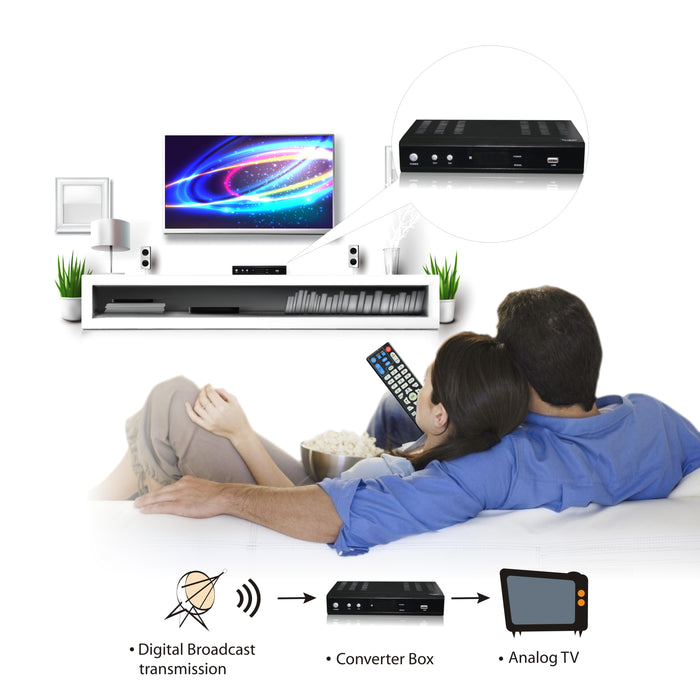 Iview 3500STBII-A Digital to Analog Converter Box