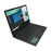 "Iview Maximus IV black 11.6"" 2-in-1 convertible laptop using Windows 10 left perspective"