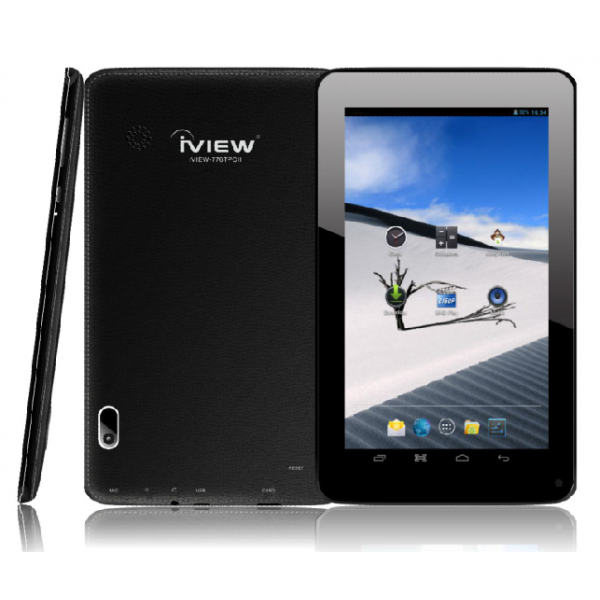 Iview 776TPCII black Android tablet