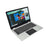Iview Megatron III gray 2-in-1 convertible Windows laptop with fingerprint recognition