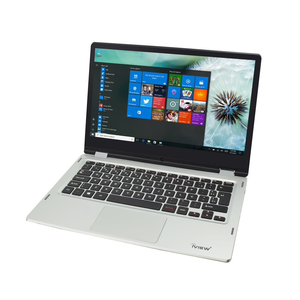 "Iview Ultima Plus 13.6"" 2-in-1 convertible Windows laptop"