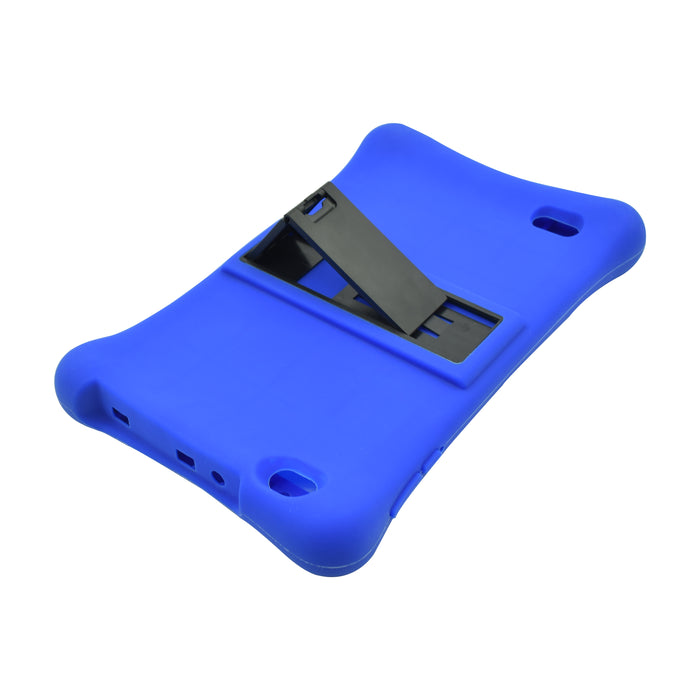 Iview 885TPC blue silicon case with slide out stand