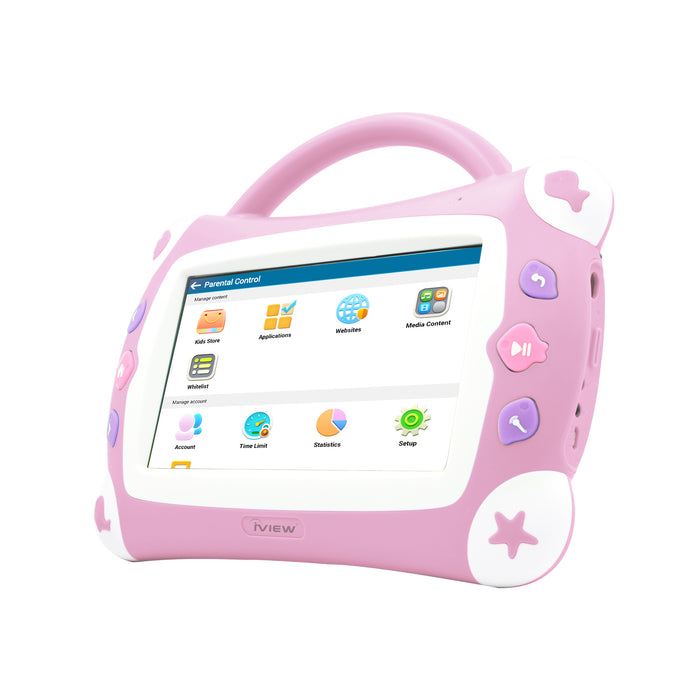 Iview 711TPC Kids Sing Pad pink Android kids tablet with parental controls