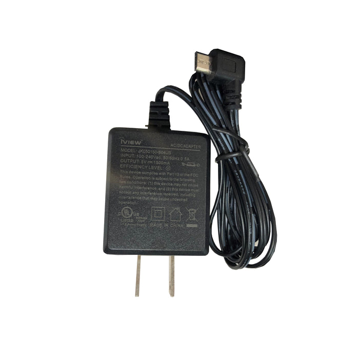i700QW / 733TPC / 744TPC / 766TPC / 910TPC / M7 Charger - Affordable 5V/1500mAh Output, UL Certified Replacement Micro USB Adapter