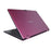 Iview pink Maximus 2-in-1 convertible Windows laptop back angle