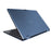 Iview blue Maximus 2-in-1 convertible Windows laptop back angle