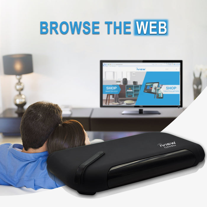 Browse the Web with the Iview CyberBox Android Box