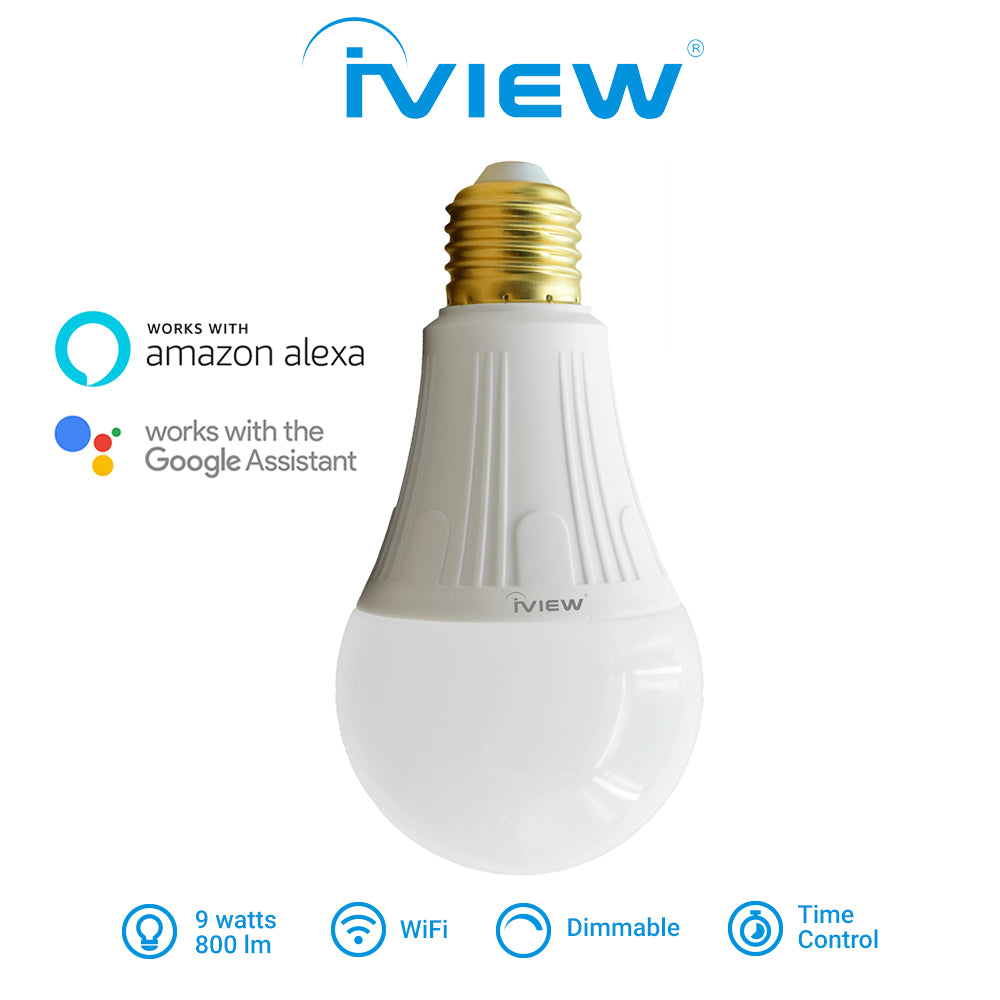 Iview ISB800 smart multicolor dimmable Wi-Fi light bulb