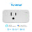 Iview ISC100 smart Wi-Fi socket, works with Amazon Alexa and Google Assistant, 16A load current, on-off switch