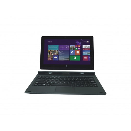 "Iview Magnus II 10.1"" black Windows tablet with detachable keyboard"