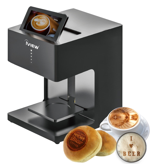 iView Picasso - Smart Latte Printer Art Industrial Food-Grade Coffee Printer for Drinks and Desserts