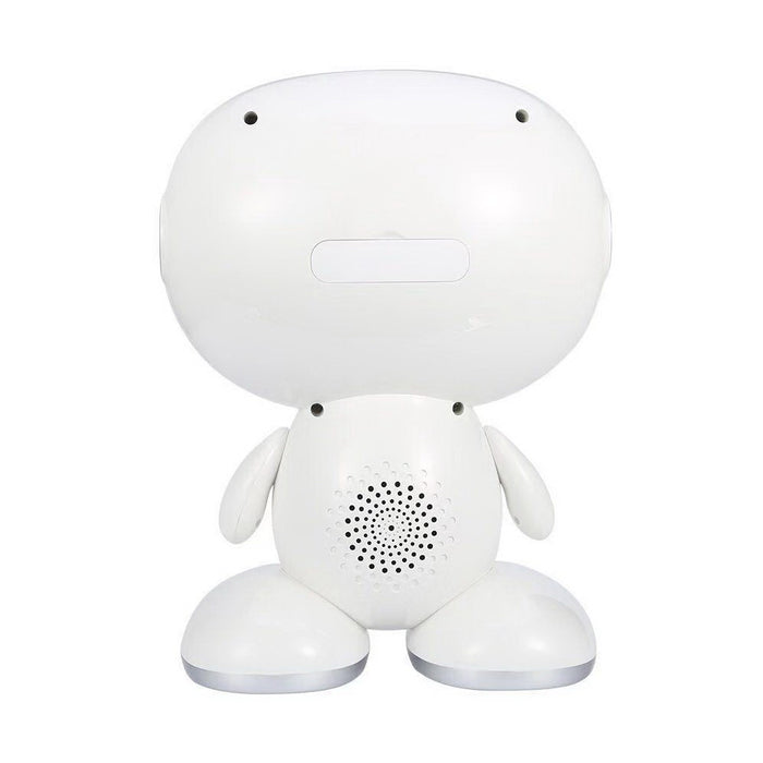 Iview Little Newton Android kids tablet white smart learning robot with built-in back speaker