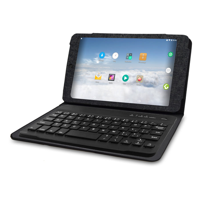 "766TPC-K - 7"" 1024 × 600 Quad Core Cortex A7 1GB/16GB Tablet w/ Keyboard Case"