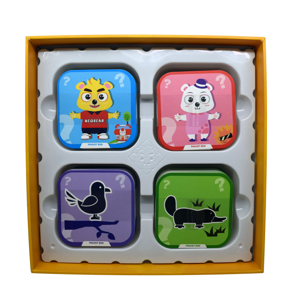 Iview Popup Zoo 4D Interactive Animal Flashcards
