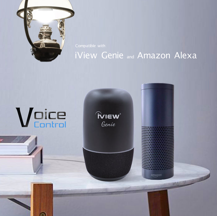 Iview ISB600 smart multicolor light bulb works with Amazon Alexa and Google Assistant