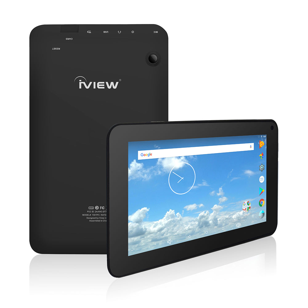 Iview 730TPC black Android tablet