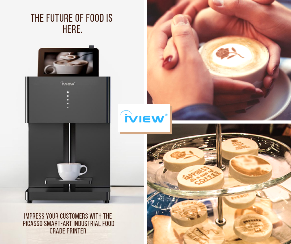 iview picasso coffee art printer latte printer