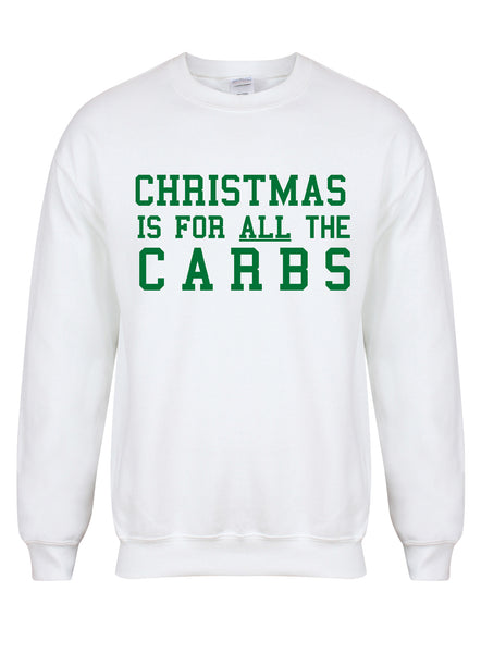 ChristmasCarbs-WhiteSweaterwGreen.jpg