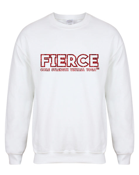 sweater-FIERCEcorevinyasa-white-redglitt