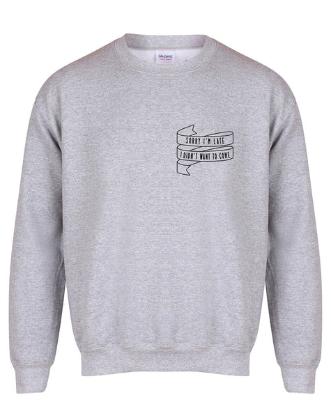 sweater-sorryimlate-grey-black.jpg