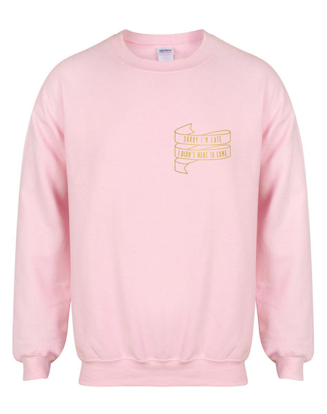 sweater-sorryimlate-pink-gold.jpg