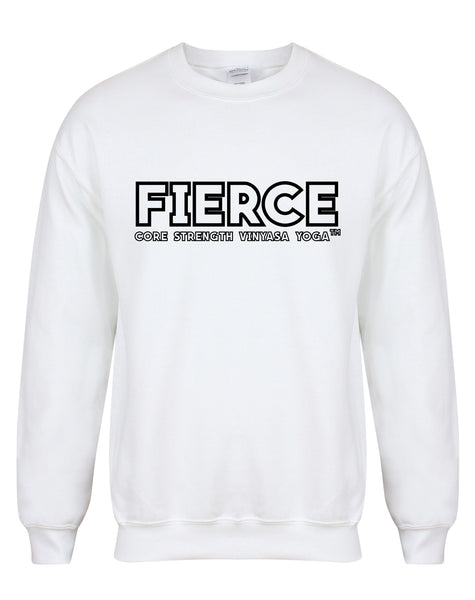 sweater-FIERCECoreStrength-white-black.j