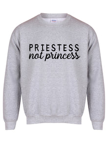sweater-priestessnotprincess-grey-black.