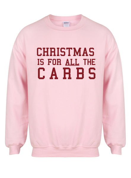 ChristmasCarbs-PinkSweaterwRed.jpg