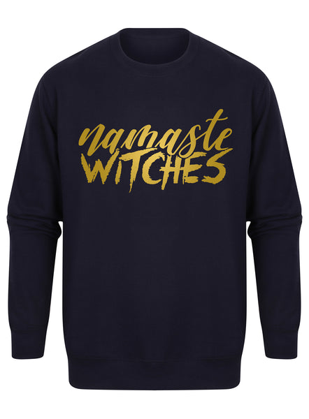sweater-namastewitches-navy-gold.jpg