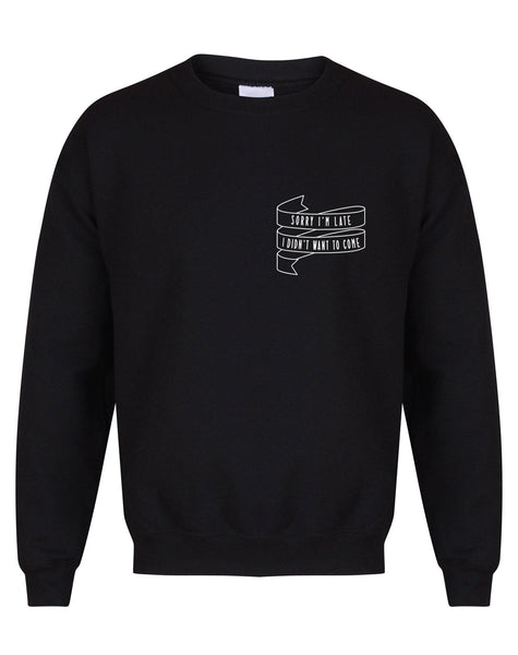 sweater-sorryimlate-black-white.jpg
