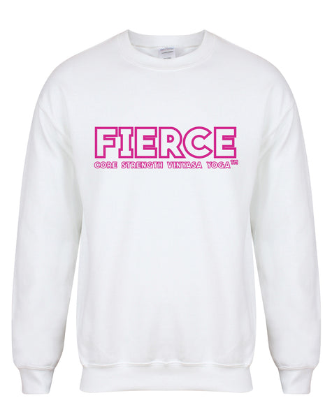 sweater-FIERCECoreStrength-white-fuschia