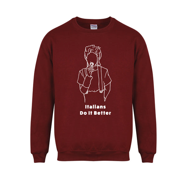 sweater-italiansdoitbetter-maroon-white.