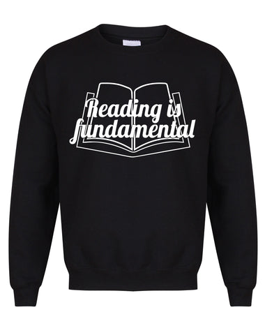 Reading Is Fundamental - Unisex Fit Sweater-All Products-Kelham Print