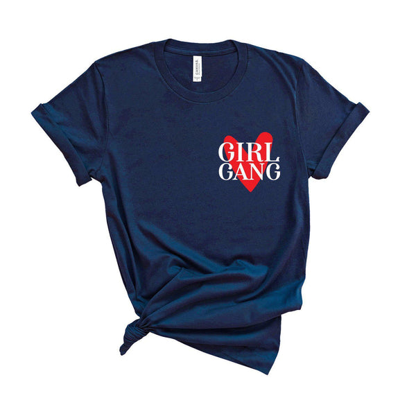 Girl Gang - Unisex Fit T-Shirt - Adults and Kids Sizes-All Products-Kelham Print