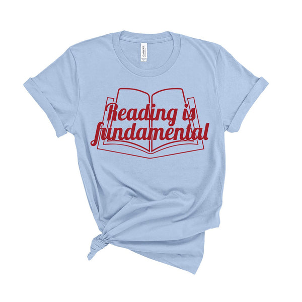 Reading Is Fundamental - Unisex Fit T-Shirt-All Products-Kelham Print