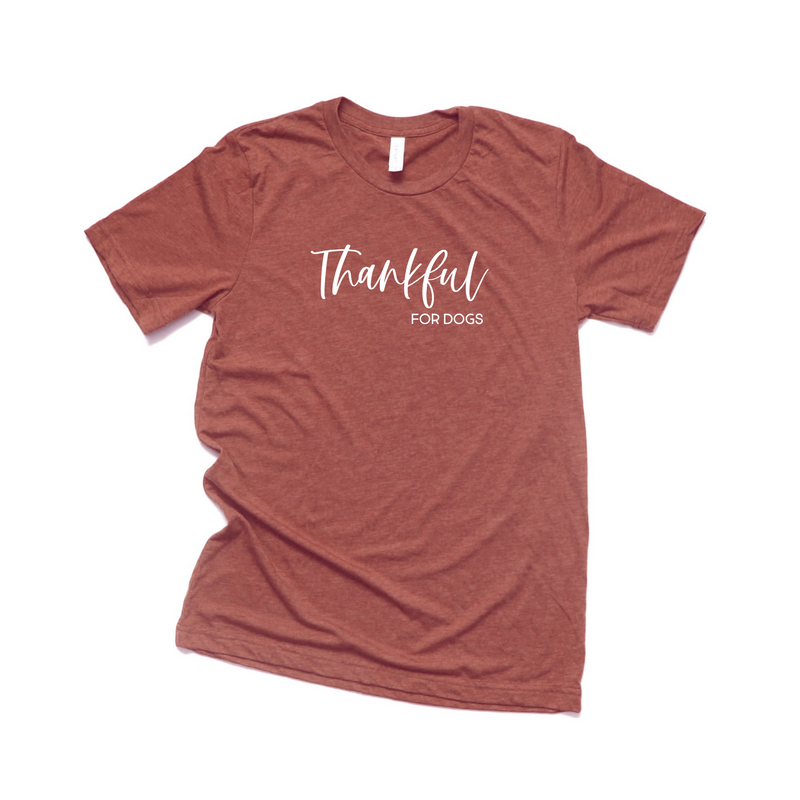 Thankful For Dogs Shirt