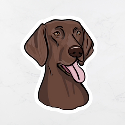 GSP German Shorthaired Pointer Sticker