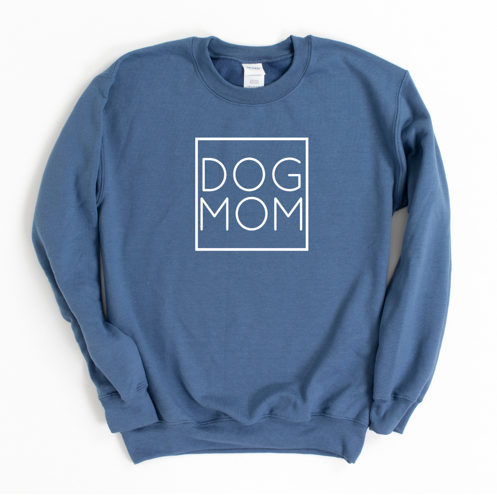 Dog Mom Square Crewneck