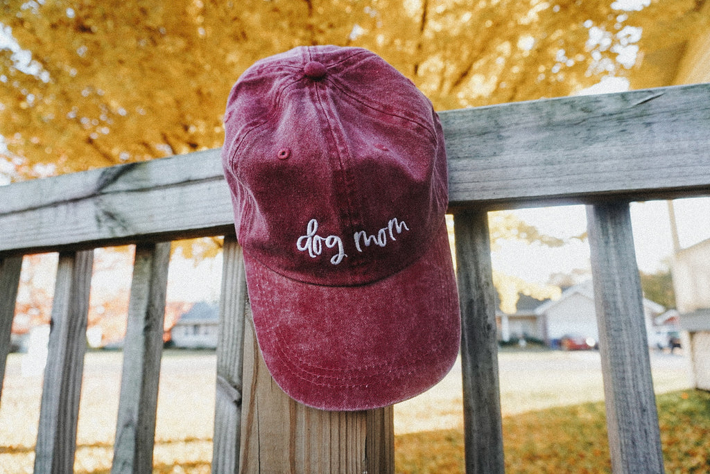 Wine Dog Mom Hat