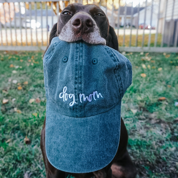 Dark Green Dog Mom Hat