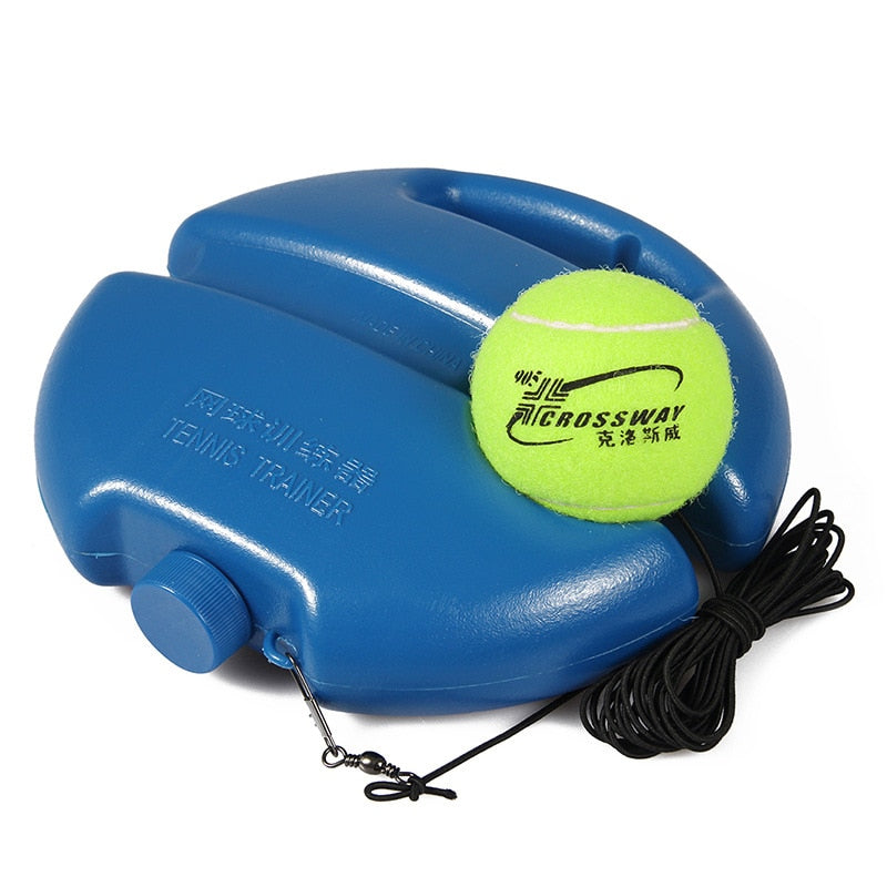 Tennis Training Aids Tool With Elastic Rope Ball Self Practice