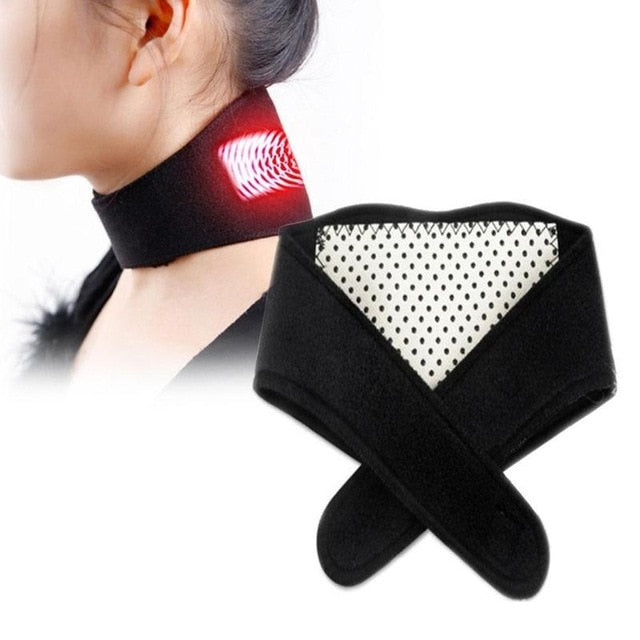Pain-Relief Magnetic Thermal Neck Brace Neck Support Massager
