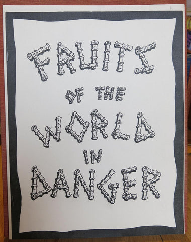 BAXTER, Glen | FRUITS OF THE WORLD IN DANGER | THE HANDY GUIDE TO AMAZING PEOPLE (SIGNED COPIES)