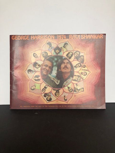GEORGE HARRISON AND RAVI SHANKAR | George Harrison 1974 Ravi Shankar (Concert Program)