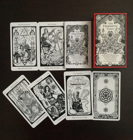6Witch3 Hermetic Tarot - box and array