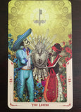 6Witch3 Santa Muerte Tarot Deck - The Lovers card