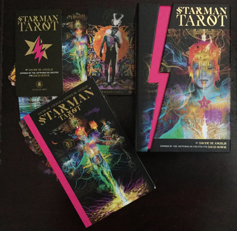 6Witch3 Starman Tarot - Display box, booklet, and sample cards