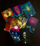 6Witch3 Santa Muerte Oracle Deck - sample card array